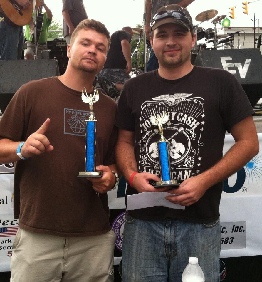 Adult Hotdog eating contest winners