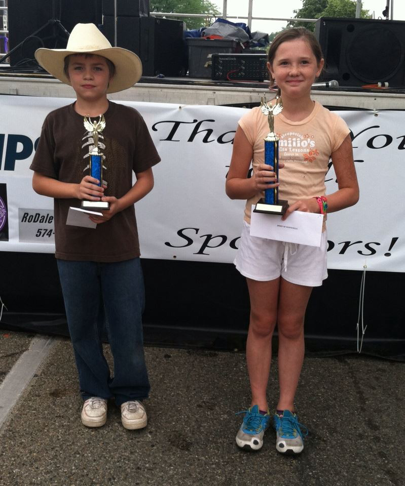 Bubble gum bubble blowing contest winners 9- 15 age bracket