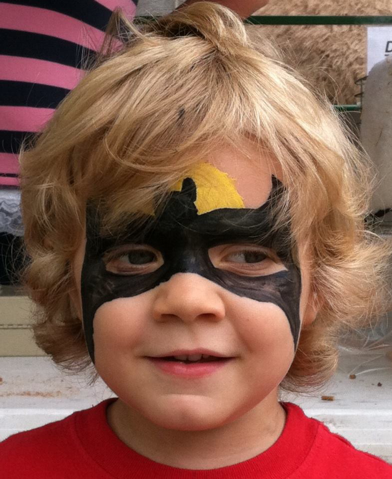 Face paint Batman