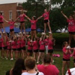 cheerleaders perform 1